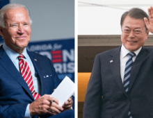 US and South Korean president to discuss North Korea in Washington next month