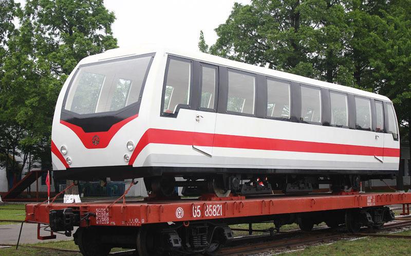 New, sleek railway cars will haul tourists up North Korea's 'holy' mountain