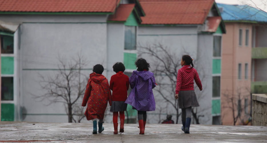 In the first few years of life, 1 in 5 North Korean kids suffer stunted growth