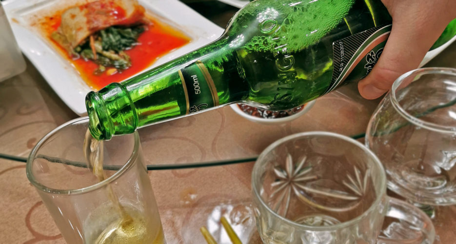 North Koreans in the countryside may soon drink up a new domestic beer