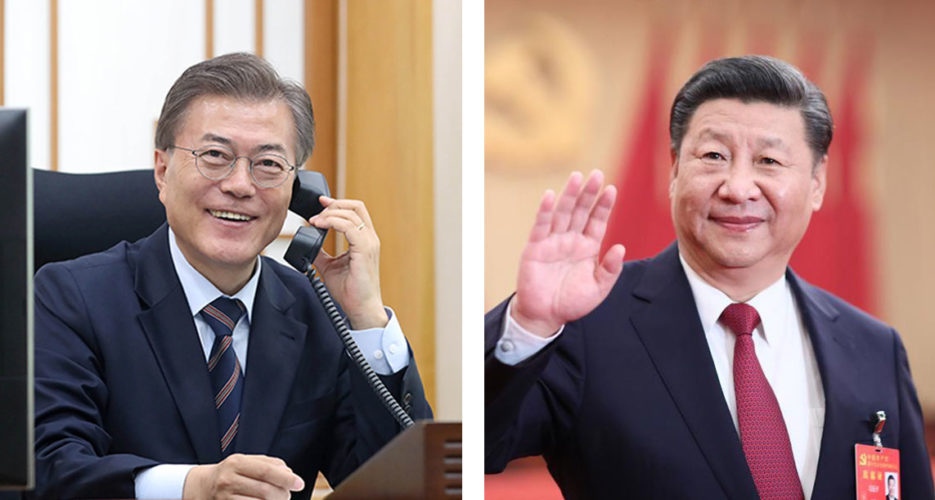 South Korea, China vow to build military hotlines to 'ease tension' on peninsula