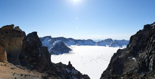 12 stunning photos from atop North Korea's legendary Mount Paektu