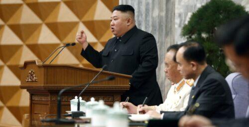 Kim Jong Un berates North Korean officials for a rough start to economic plans