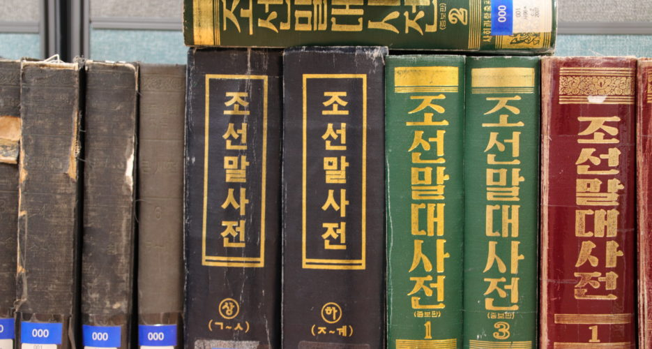 Sixteen years and 307,000 words later, the two Koreas draft a joint dictionary