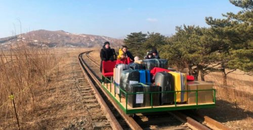 Rail trolleys, swim flippers and lockdown in Pyongyang – NKNews Podcast Ep. 172