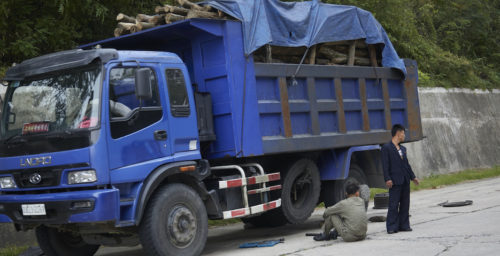 Sanctions may be pushing North Korea to cut down trees for construction