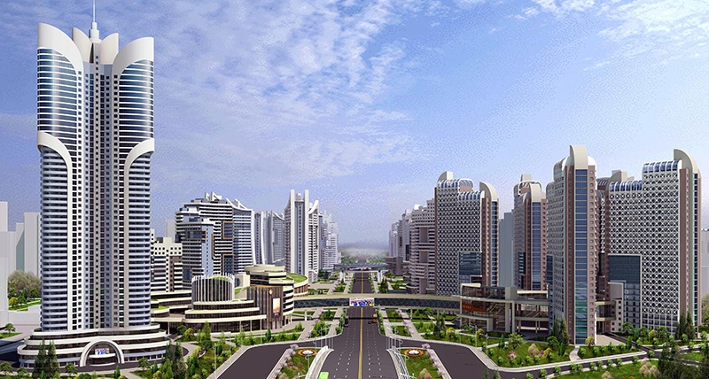 North Korea kicks off plan to build 10,000 'modern flats' in Pyongyang this year