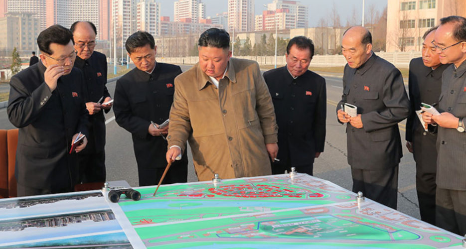 Kim Jong Un wants to gift fancy new 'terrace' flats to teachers and scientists