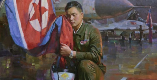 Drawing the fine line between art and propaganda in North Korea