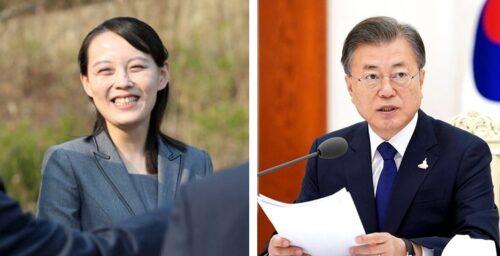Kim Yo Jong berates South Korean president and calls missile test 'self defense'
