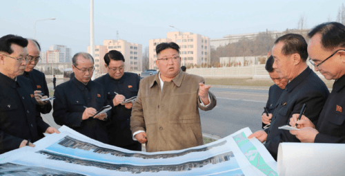 Kim Jong Un is on a mission to build thousands of new apartments in Pyongyang