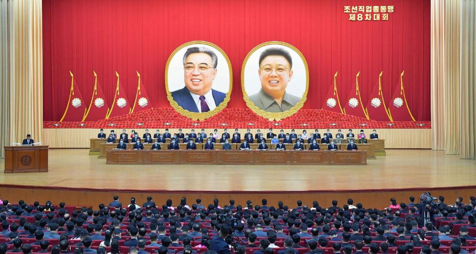 Kim Jong Un tells workers 'communist faith' will overcome poverty, bring utopia