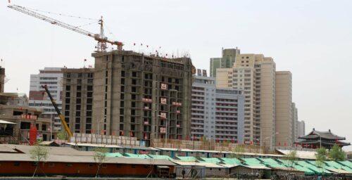Dozens of highrises sprout up in Pyongyang as Kim Jong Un's June deadline looms