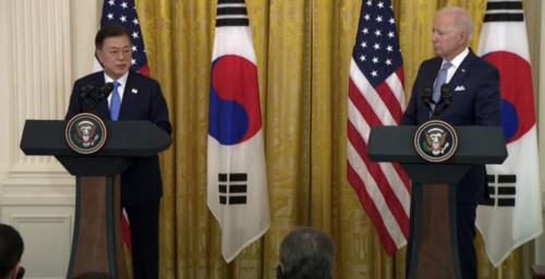 Biden and Moon pledge denuclearization talks with North Korea