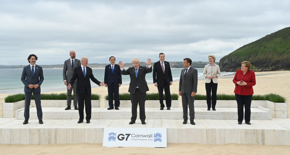 G7 nations call for the 'complete denuclearization of the Korean Peninsula'