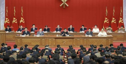 Kim Jong Un admits food security issues as party plenum event kicks off