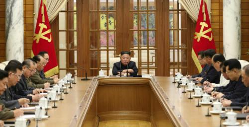 Kim Jong Un reappears at politburo meeting, calls 'urgent' party event next week