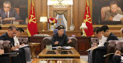 Kim Jong Un promises economic 'stabilization' at meeting of party officials