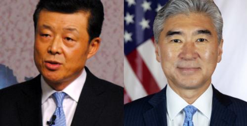 U.S. envoy Sung Kim, key Chinese diplomat hold phone talks on North Korea