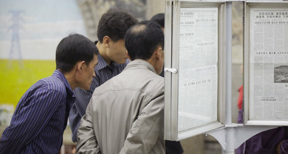 North Korea hides news of inter-Korean hotline reconnection from its people