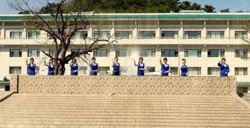 Sinuiju, North Korea's most popular destination at the Chinese border
