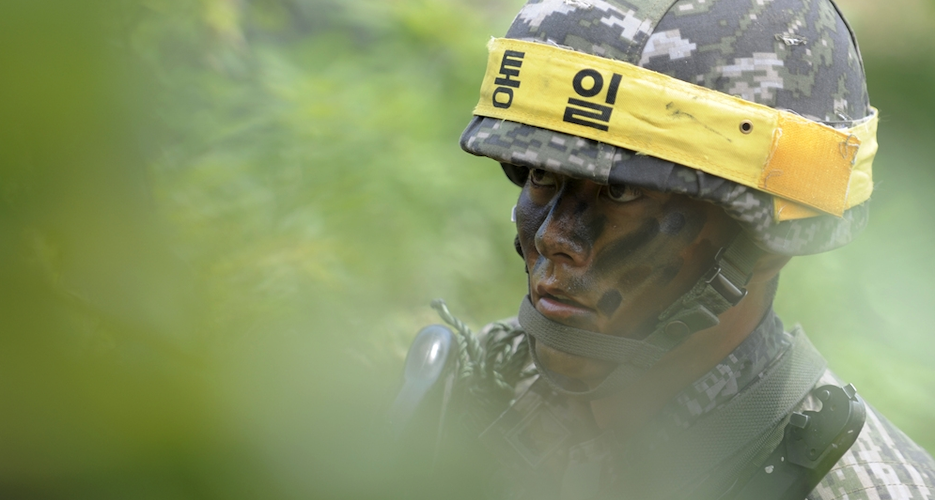 Four in 10 South Koreans think their military is stronger than North Korea's