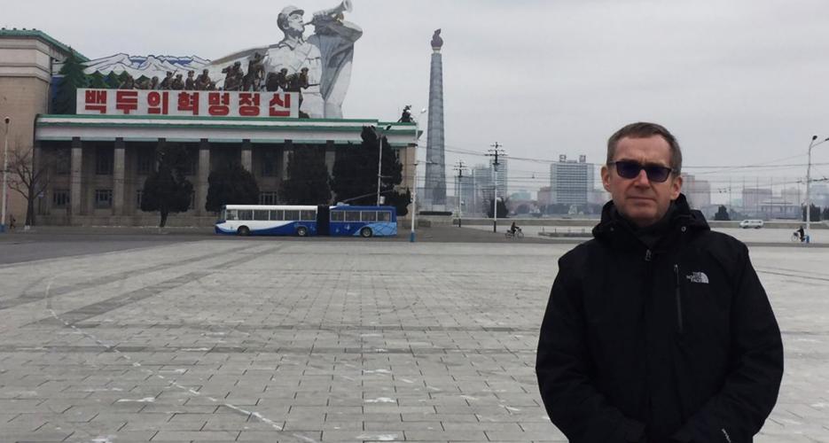 UK's outbound North Korea ambassador Colin Crooks to be next ambassador to Seoul