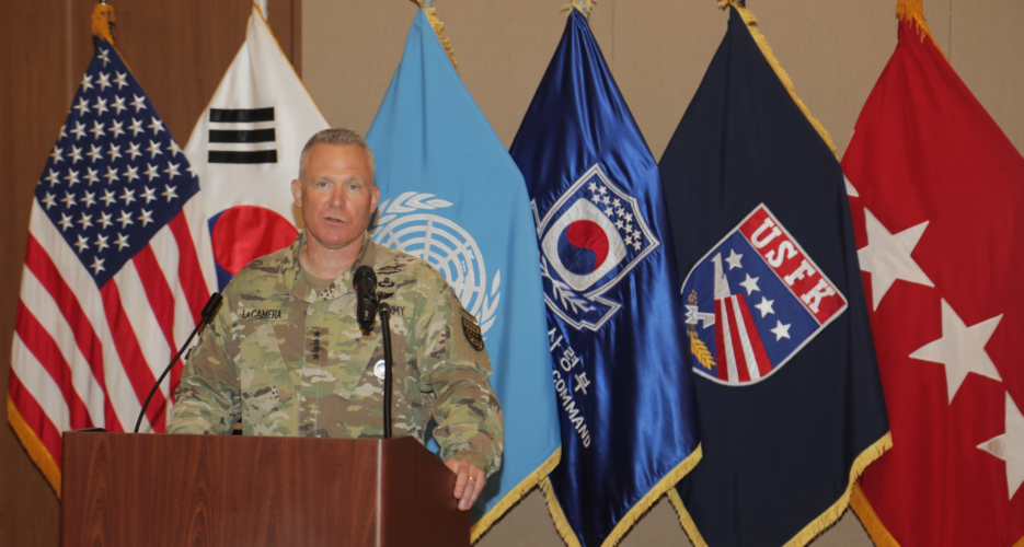 New commander takes charge of US Forces Korea