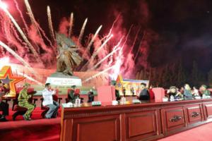 Kim Jong Un compares COVID-19 'hardships' to Korean War at veterans conference