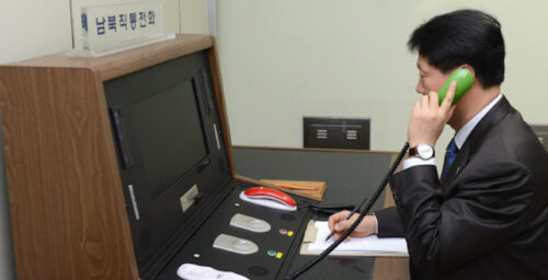 South Korea vows to prepare for 'early October' inter-Korean hotline talks