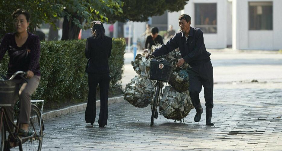 As economy struggles, North Korea invokes self-reliance to inspire workers