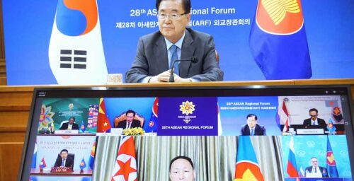 North Korea complains about 'hostile' foreign pressure at ASEAN forum