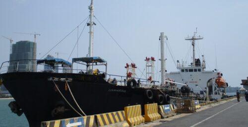 US seizes Singaporean oil tanker for violating North Korea sanctions