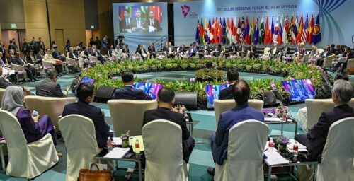 US: 'No plans' to engage with North Korea at ASEAN event this week