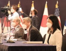US, South Korean officials discuss North Korea issues, humanitarian cooperation