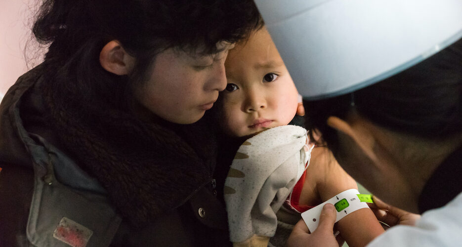 Help on the way? UNICEF could provide vaccine storage equipment to North Korea