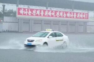 Crises mount in North Korea as major flooding follows drought, food shortages