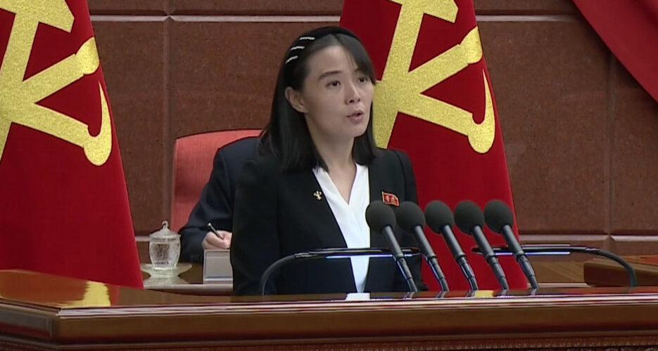 Kim Yo Jong slams US-South Korea joint drills, casts doubt on leader summit