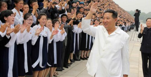 Kim Jong Un meets disaffected youth who found redemption through hard labor