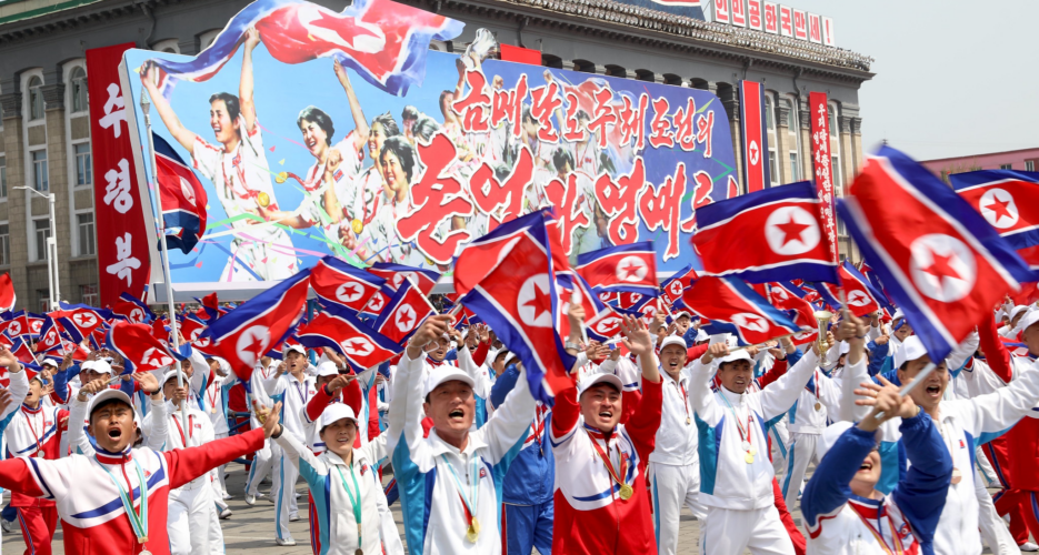 When North Korea shined at the 'Olympics of the Left'