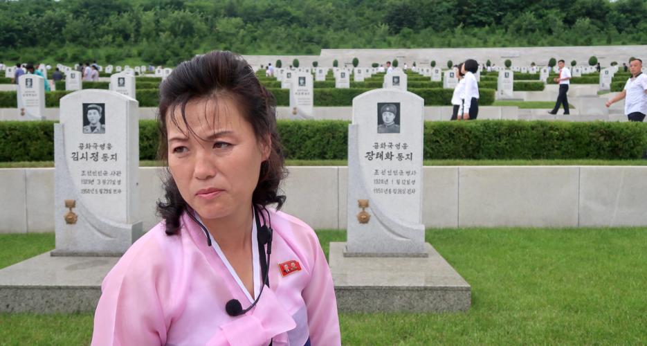 A very North Korean way to die