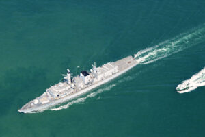 UK warship spots potential violations of North Korea sanctions in East China Sea