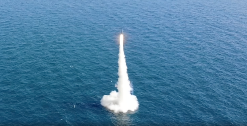 South Korea announces successful ballistic missile launch from submarine