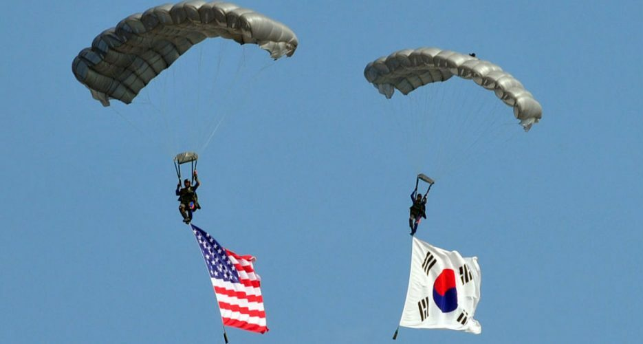 Cost-sharing deal on Seoul's contribution for US troops enters into force