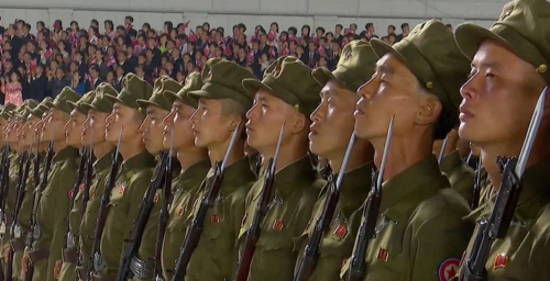 North Korea's military parade targeted domestic audience: experts