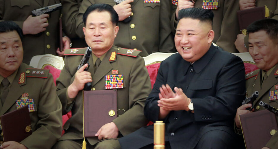 North Korea reveals new top military brass days after politburo meeting