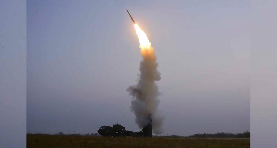 North Korea says it tested new 'anti aircraft missile' on Thursday