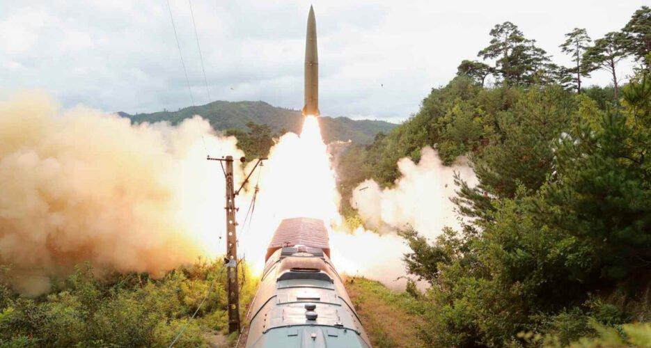 North Korea tested new train-launched ballistic missile system: state media