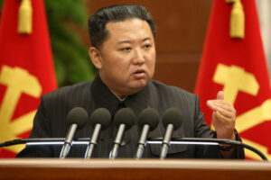 Kim Jong Un raises 'urgent' issues of food supply, COVID and flooding
