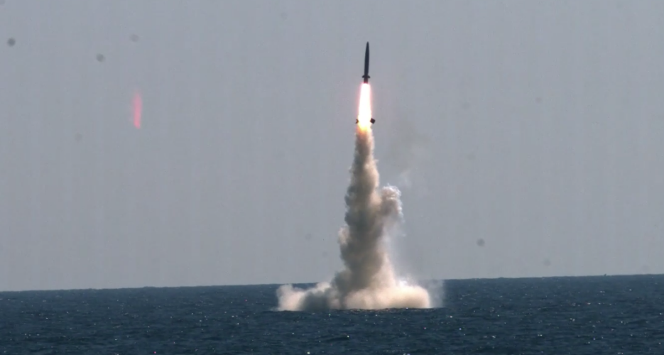 North Korea says their submarine missiles are bigger, better than South's